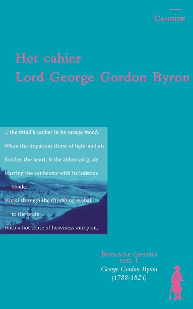Het cahier Lord George Gordon Byron